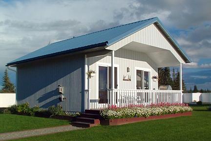 white luxury cottage