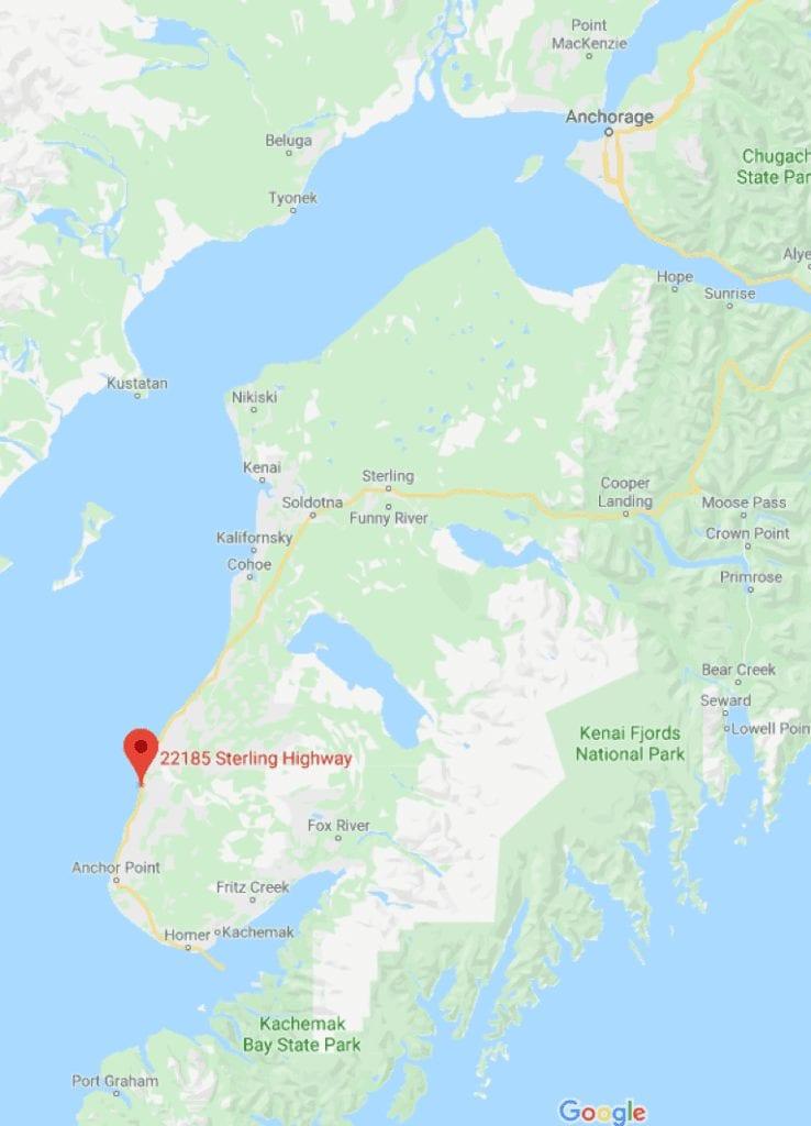 Soaring Eagle Lodge location map