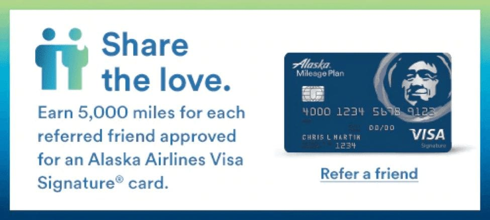 Share the love Alaska Airlines credit card