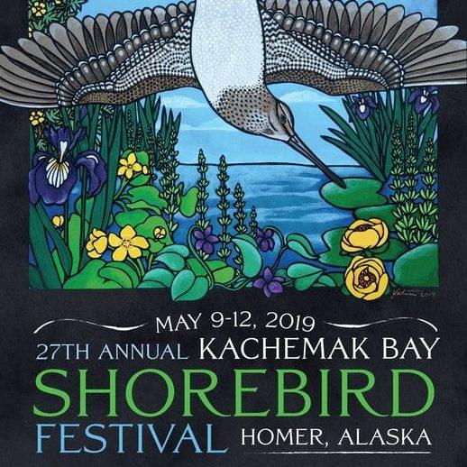 Shorebird Festival poster