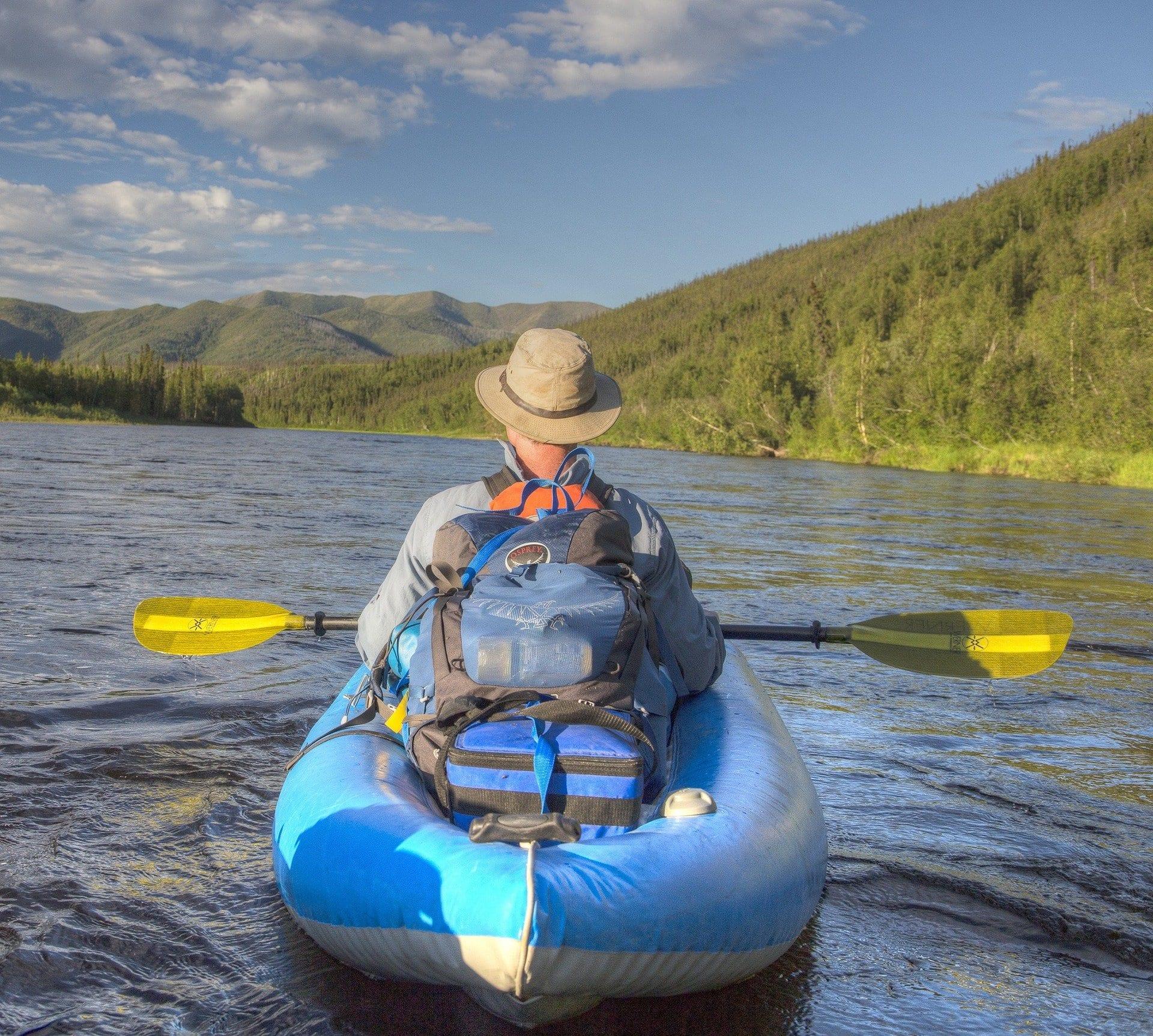 kayaking on the kenai river